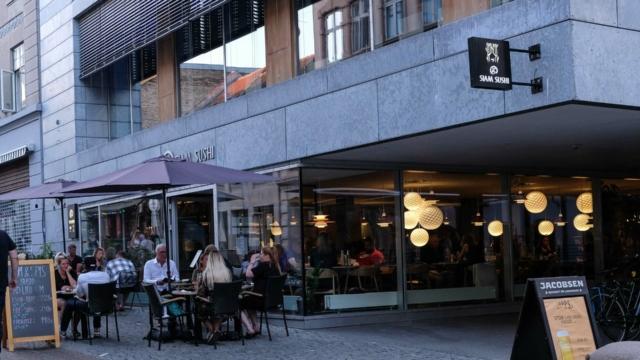 A+ Siam Sushi i Frederiksgade i Århus C-8