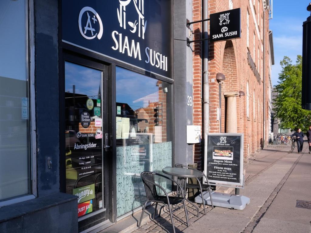 A+ Siam Sushi på Nørreport i Aarhus-8