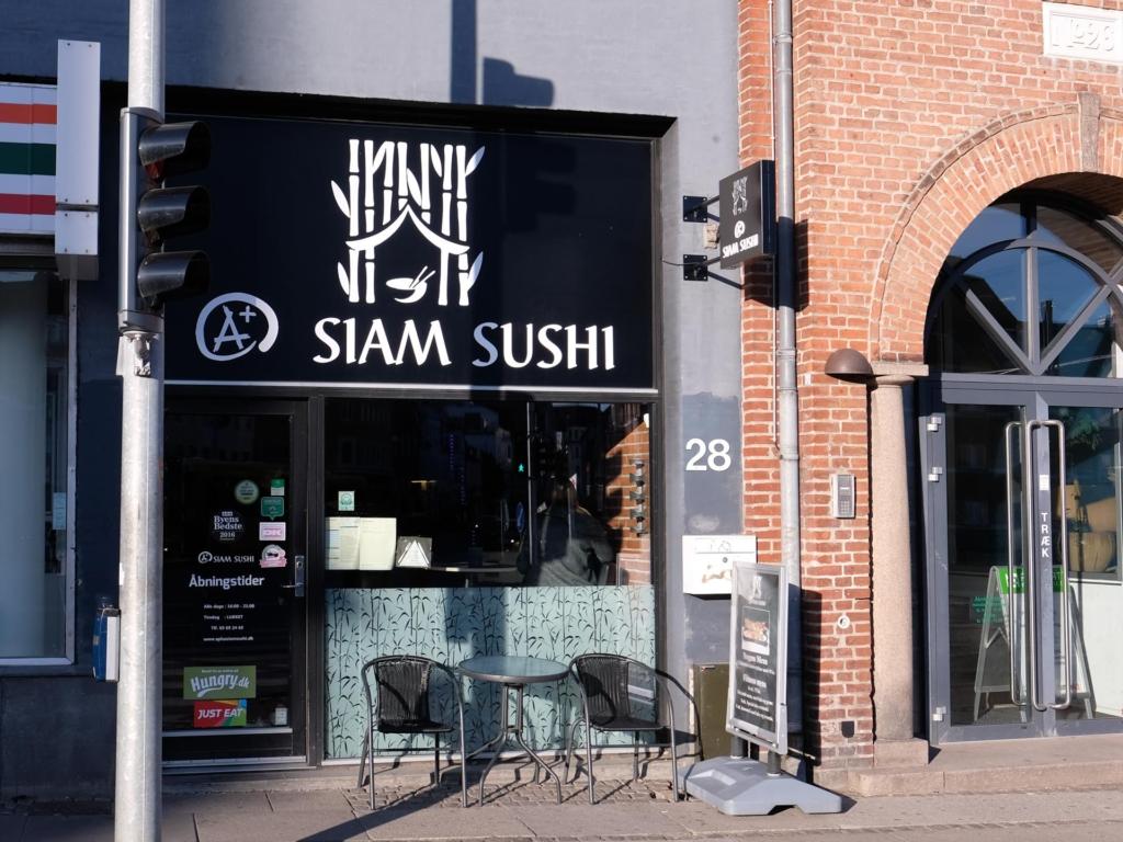 A+ Siam Sushi på Nørreport i Aarhus-9