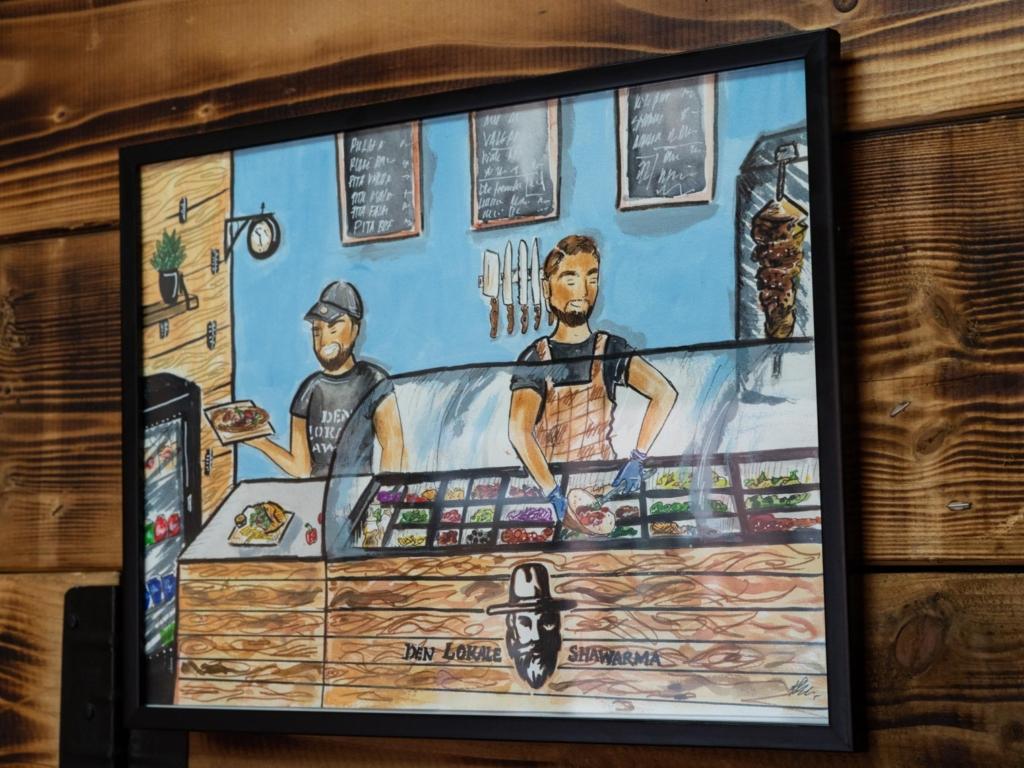 Den Lokale Shawarma i Aarhus_-8