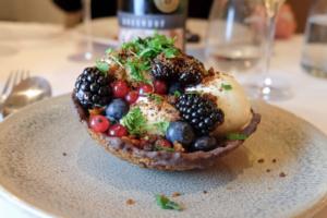 Frugtkurv hos Restaurant Fedet i Risskov