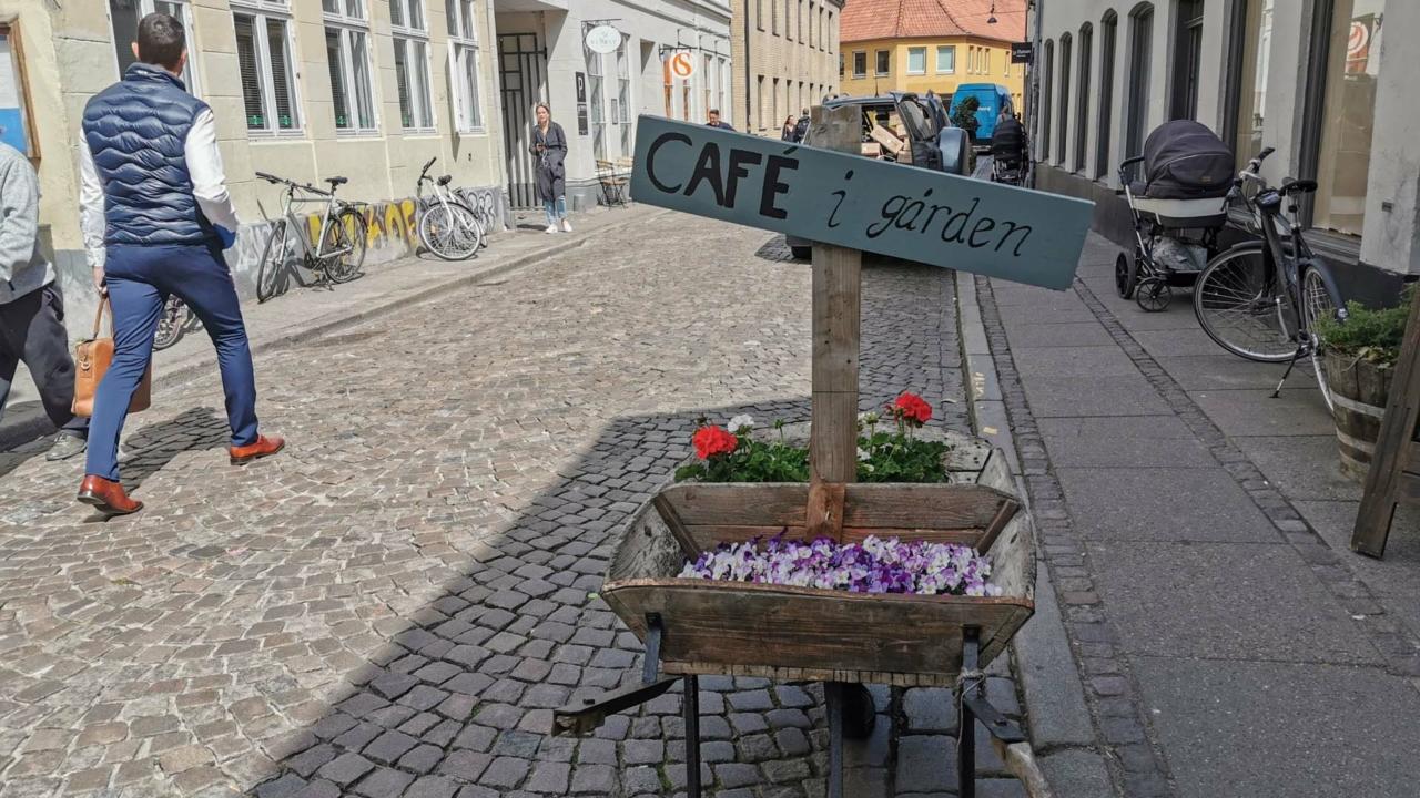 Landcafé i Studsgade