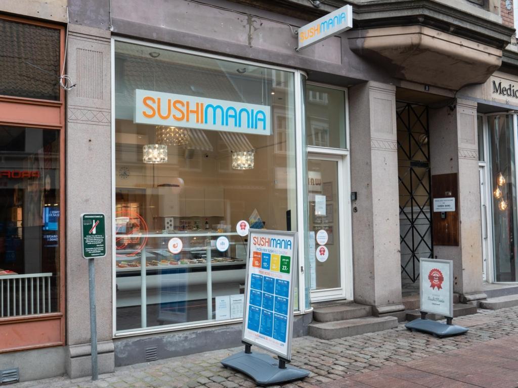 SushiMania i Guldsmedgade