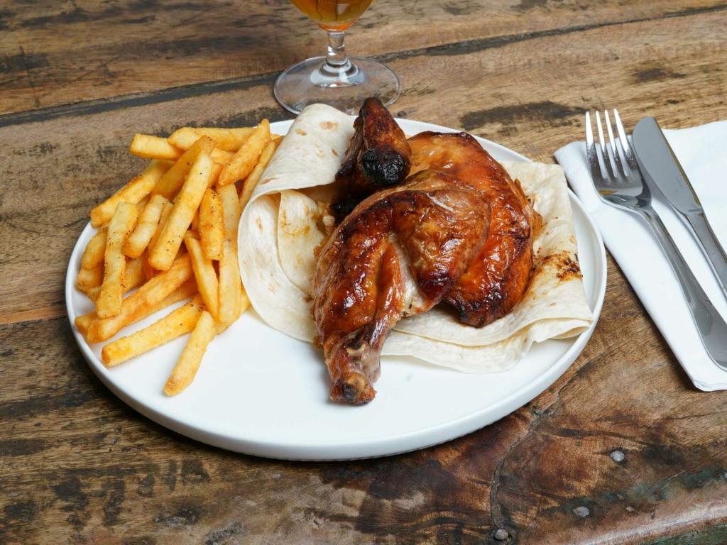 Kyllingen hos Angus N' Chicken House i Frederiks Allé