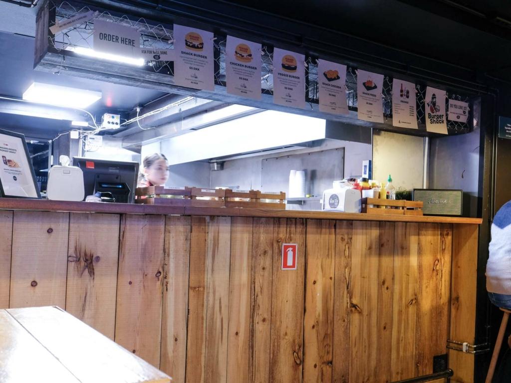 Burger Shack i Jægergårdsgade