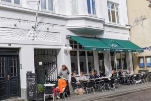 Café Englen i Latinerkvarteret