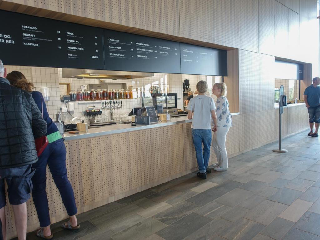Café Moesgaard Museum i Højbjerg
