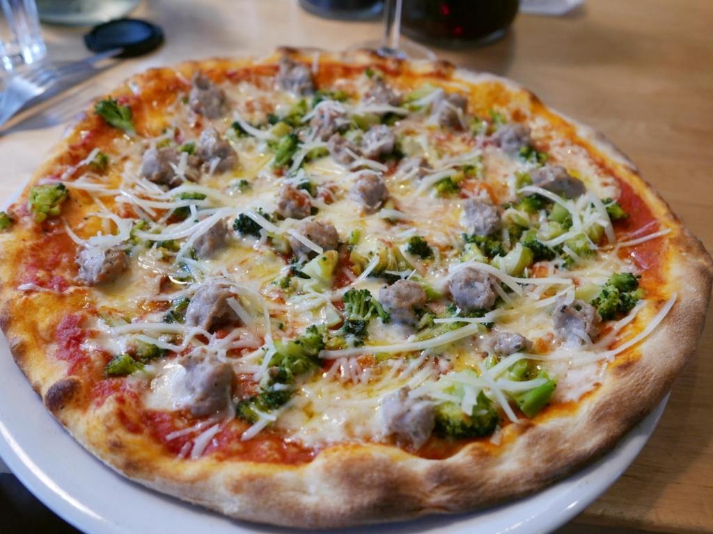 Pizza hos Casa Mia på Trøjborg