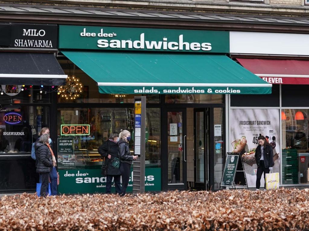 Dee Dee's Sandwich ved Banegården i Aarhus