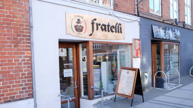Fratelli Pizzeria på Trøjborg