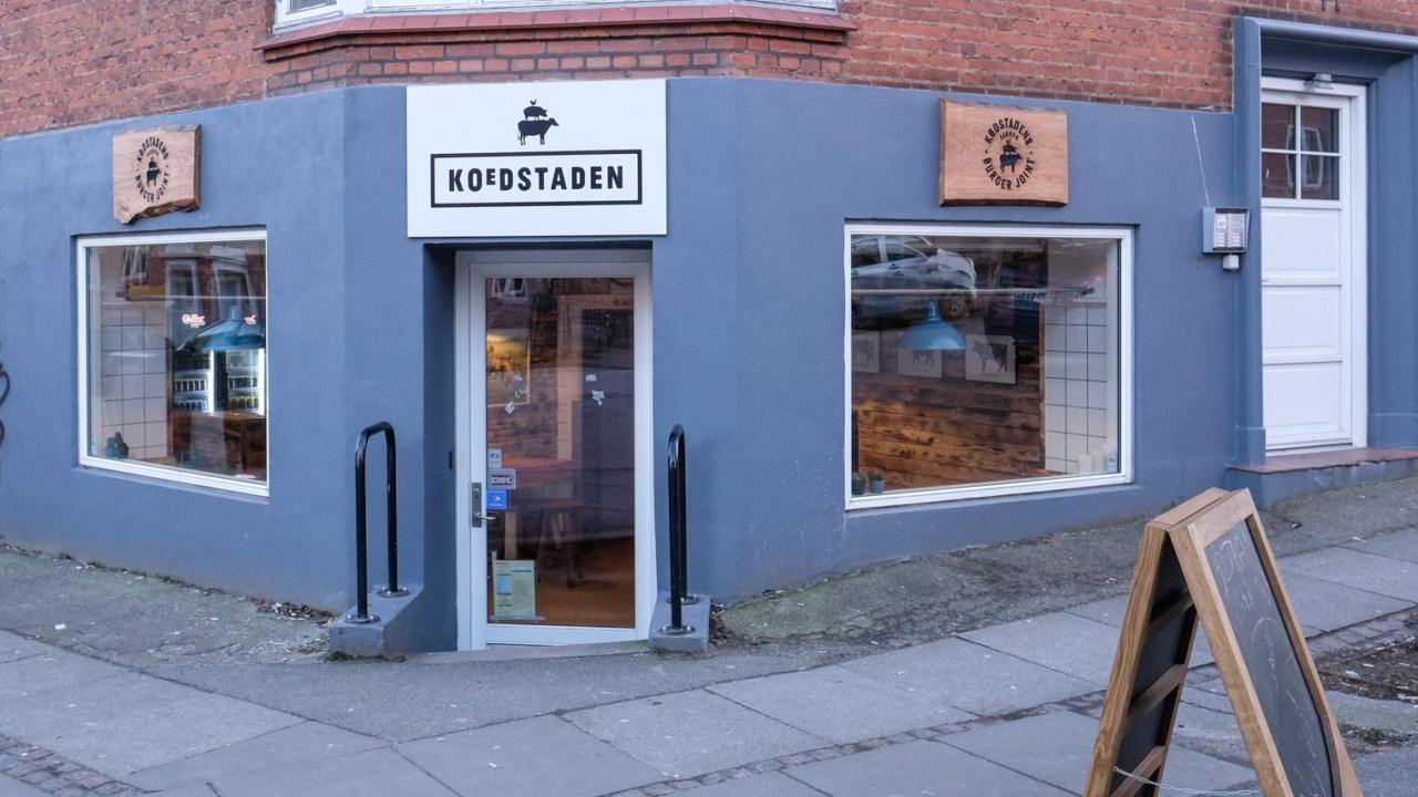 Kødstadens Burger Joint på Trøjborg