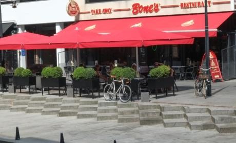 Restaurant Bone's ved åen i Århus C