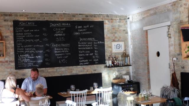 Indretningen hos Restaurant Pondus