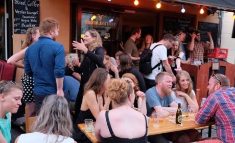 Fest i gaden hos Vesterlauget
