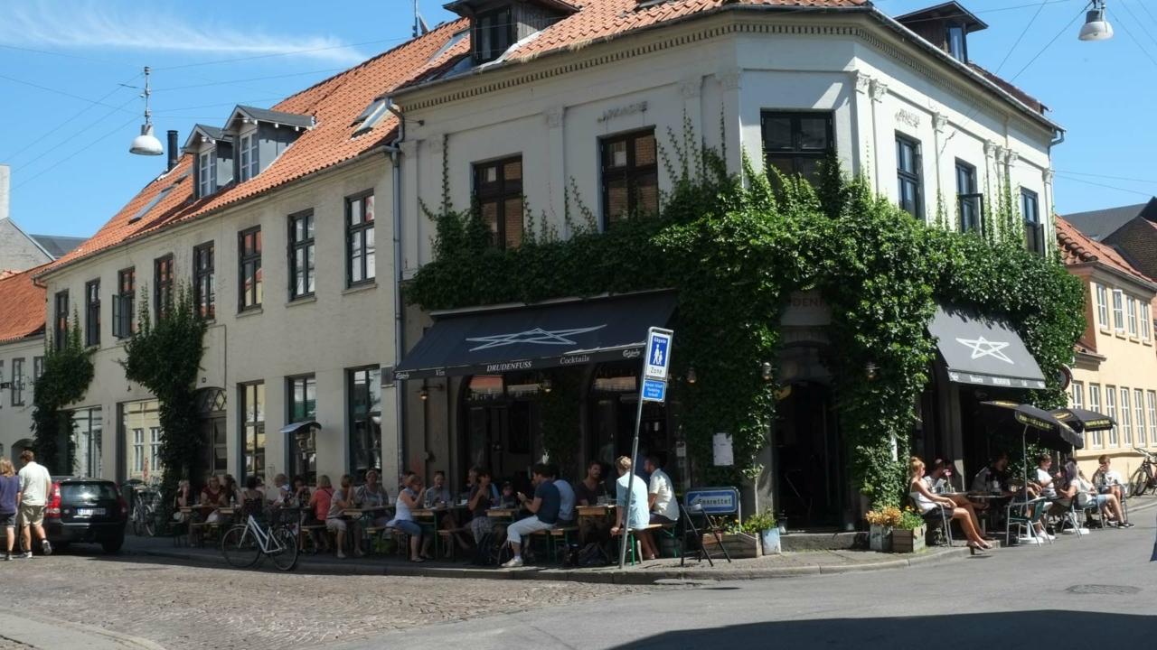 Café Drudenfuss i Aarhus_