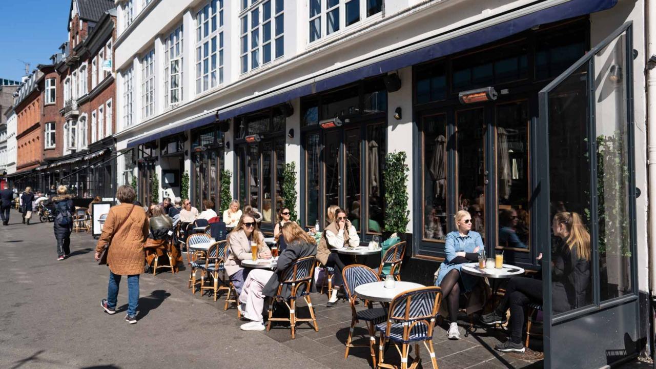 Café Viggo ved åen i Aarhus