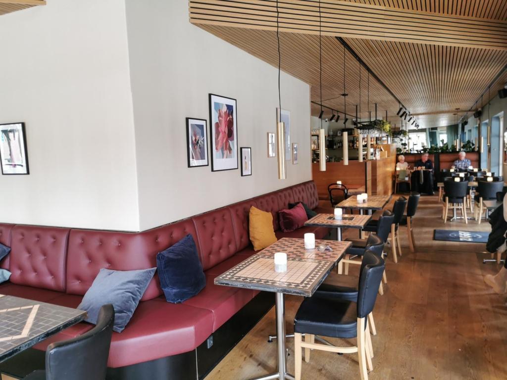 Café Ziggy nyrenoverede lokaler