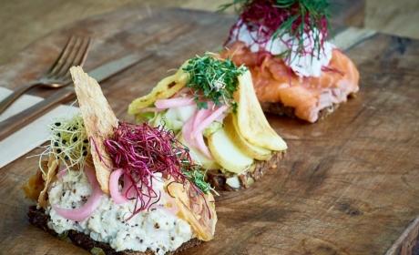 3 stykker smørrebrød hos MIBmadmarked - Spiseguiden Aarhus