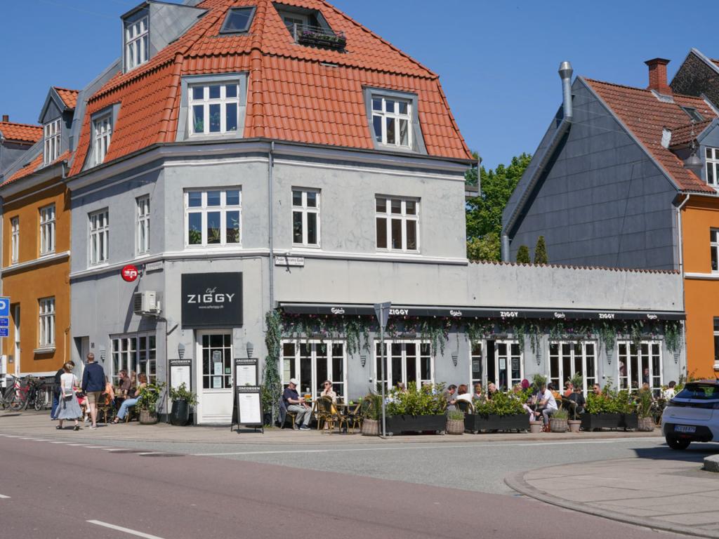 Café Ziggy på Trøjborg