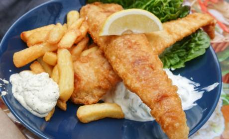Lidt fisk til frokost hos Madkonsulatet - ©Spiseguiden Aarhus
