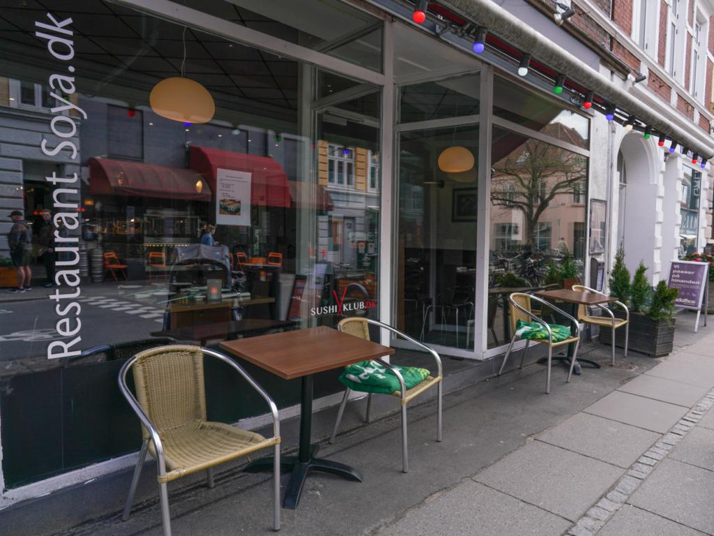 Restaurant Soya 1 i Jægergårdsgade-3