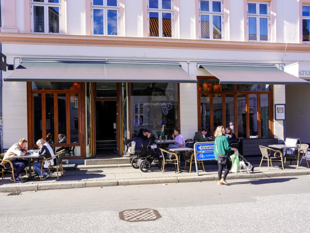 Sota Sushi Bar i Vestergade-2