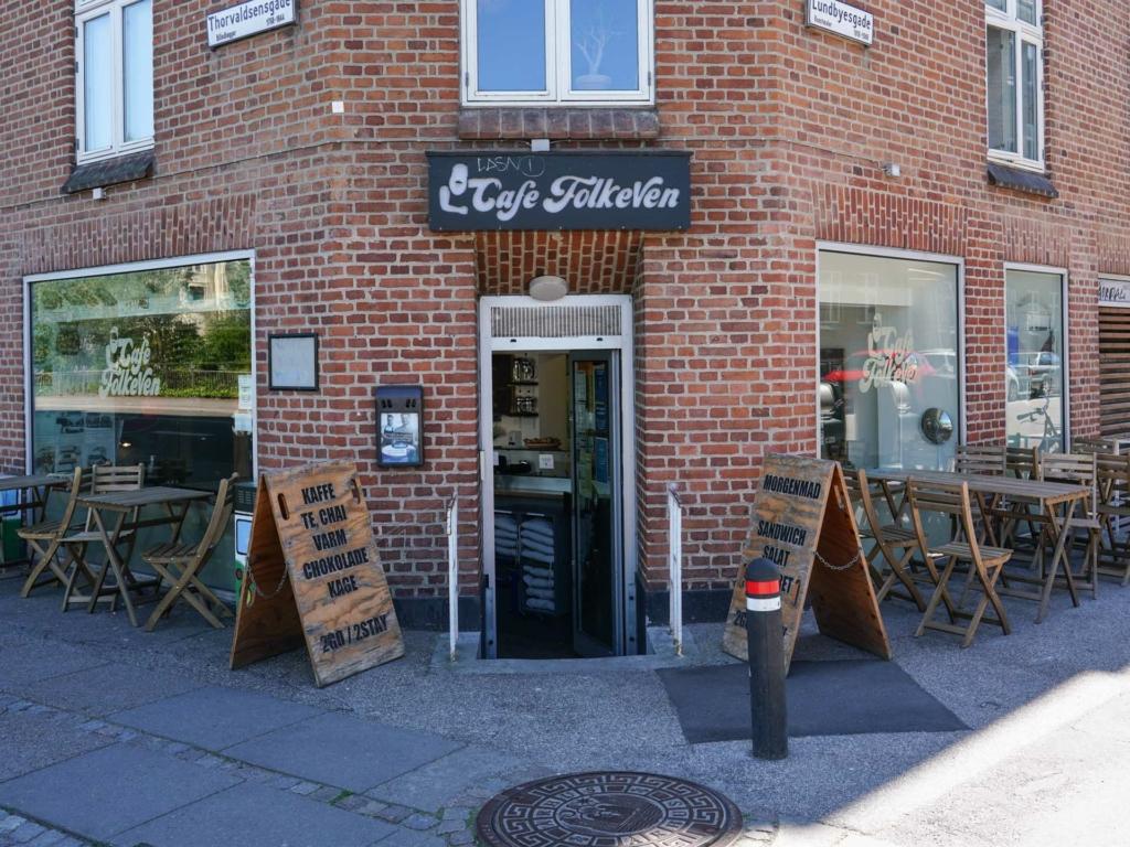 Café FolkeVen ved åen i Aarhus