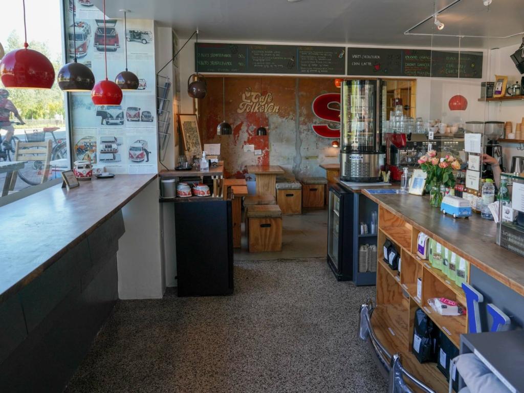Indretningen hos Café FolkeVen