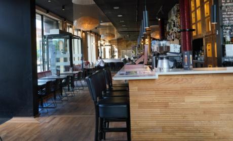 Baren hos Café Stiften