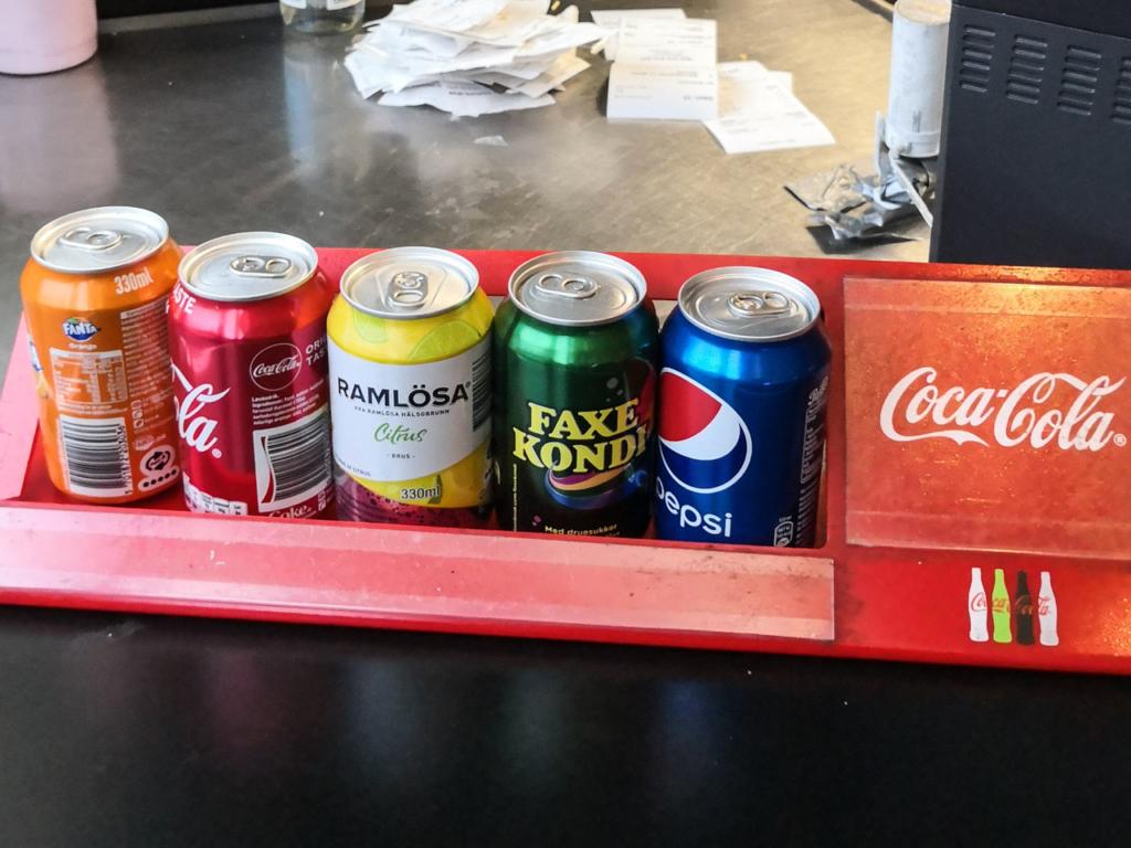 Kedelig udvalg af drikkevarer hos Wok This Way