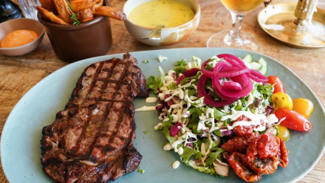 En steak hos La Foresta