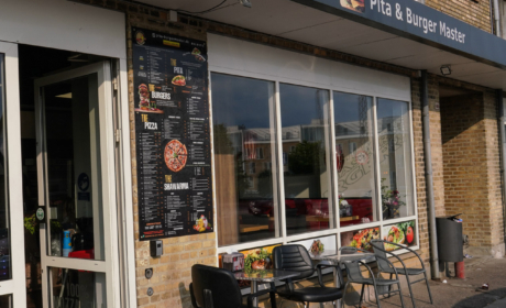 Pita & Burger Master i Hasle