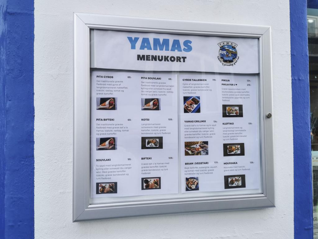 Menutavlen hos Yamas i Vestergade