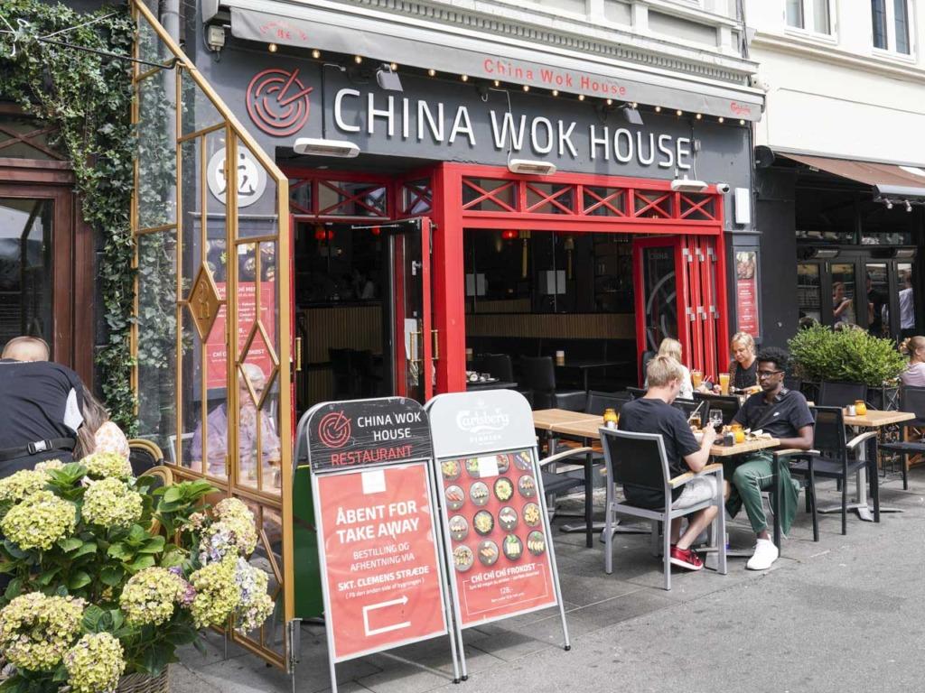 China Wok House ved åen i Århus
