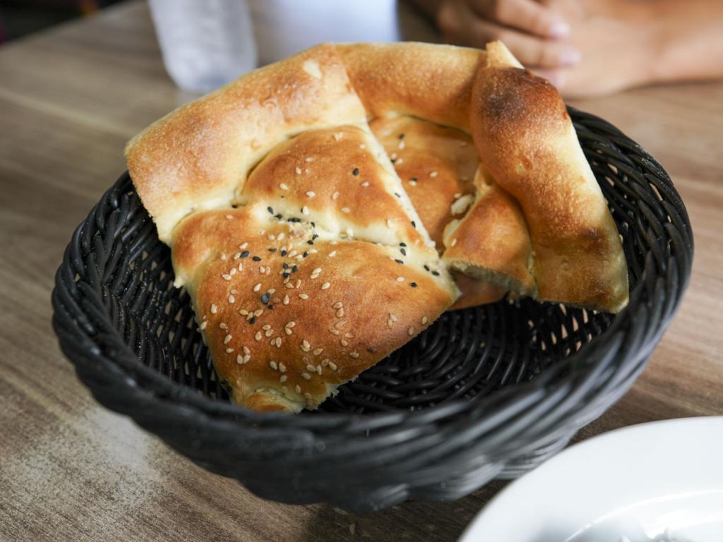 Lidt brød hos Saray Kebab