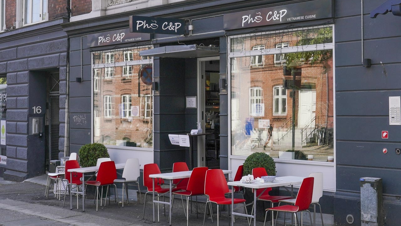 Pho C&P i Sønder Allé i Århus